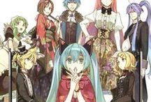Vocaloid / I love the Vocaloids