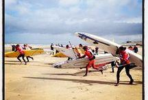Watersporten / Zandvoort aan Zee, de ideale locatie om te surfen, kiten, SUPPEN en veel meer. Zin in Sport? = Zin in Zandvoort!