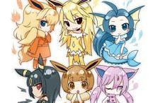 Pokemon Gijinka / The humanization of Pokemon