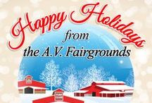 Happy Holidays - Christmas / Wishing you peace and joy throughout the new year from the Directors & Staff at the Antelope Valley Fairgrounds And Turf Club. • avfair.com. / by Antelope Valley Fairgrounds