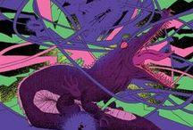 Marko Turunen / Marko Turunen (b. 1973) is a Lahti-based illustrator and artist.
