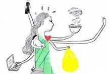 Kati Rapia / Kati Rapia (b. 1972) is an illustrator and comic artist living in Loviisa