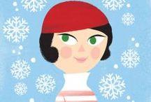 Kati Närhi / Kati Närhi (b. 1973) is a Helsinki-based illustrator, graphic designer and comic artist.