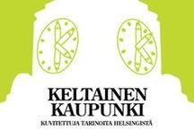 Keltainen Kaupunki - Yellow City / Keltainen kaupunki - Yellow City (Illustrated stories from Helsinki) is an award winning book combining Helsinki stories with top Finnish illustrations. For the book project, 17 illustrators invited their favourite Finnish author for collaboration.  Order your copy from here: http://www.napabooks.bigcartel.com/product/keltainen-kaupunki-yellow-city