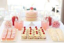CELEBRACIONES / Mesas dulces / decoración para distintas ocasiones de mesas