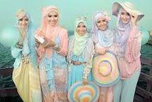 Hijab fashion / moslem wear