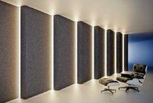 LED osvetlenie a svietidlá / Inšpirácie pre interiérové a exteriérové osvetlenie. Interiérový dizajn a návrh osvetlenia. Moderný interiér. Štýlové osvetlenie