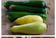 Eating- Zucchini!