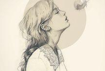 Portraits,illustration tips/tuts