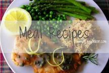 LUNCH + DINNER / Fit Chick's Lunch + Dinner Recipes || Chicken, Fish, Beef, Pasta, Pizza, etc.