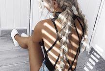 Hair series: Double french braids, milkbraids, dutch braid etc