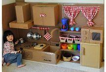 Doll house dıy / Happy childrens :)