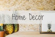 HOME DECOR / Everything Home Decor || Bedroom, Kitchen, Bath, etc.