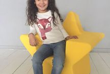 Little Star Chair / A starry Project of design for kids on Kickstarter p
