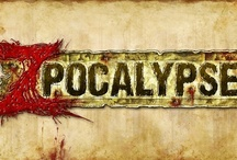 Zpocalypse / Zpocalypse is a survival board game set in a post apocalyptic nuclear wasteland.