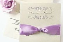 Lilac / Lavender Wedding / Lavender colored wedding details- decorations. chairs, color schemes, invitations, favors, cards,  flowers, table centerpieces.