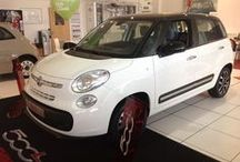Fiat 500L - Fiat Goes LARGE! / The all-new Fiat 500L is available from Essex Fiat now.  Combining more space with the style and flare of the Fiat 500 the new 500L provides chic design and practical space.