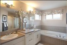 Bathrooms & Ensuites / Between getting ready for and ending the day - we spend a lot of time in our bathrooms, which is why you should love yours! Enjoy bright and airy spa inspired ensuites that leave little to be desired.