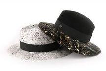 Los sombreros de Maison Michel / Los diseña Laetitia Crahay, los fotografía Karl Lagerfeld y los llevan todas las chicas que adoramos. Así son los diseños de Maison Michel. Vía: Revista Vogue.