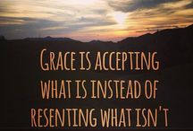 grace / Learning to receive...