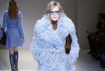 Gucci en MFW 2014 / Frida Giannini reinterpreta el legado de Gucci a golpe de silueta 'sixties' y una paleta de color basada en tonos suaves. Por la revista Bazaar.