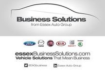 Business Solutions / Managing company cars and fleets can be complicated.  Essex Auto Group created Business Solutions to make your life easier. We've offered Business Solutions since 1991 and offer a large portfolio of vehicle solutions and long experience in supporting fleet managers.   Our Business Solutions Advisors provide sound advice on financing, tax issues, CO2 emissions, and whole-life cost comparison of vehicles. You can then choose the best solution to suit your particular needs.