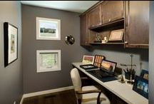 Home Offices / Working from home is the best way to work! Which is why we have incorporated functional office spaces into many of our floor plans.