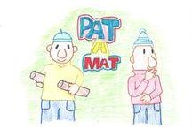 Súťaž - Nakreslite Pata a Mata! / V jesennom katalógu 2014 je vašou úlohou nakresliť obľúbené animované postavičky Pata a Mata.