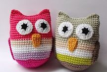 Horgolt játékok, dekoráció, egyéb/Crochet Toys / My works