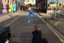 Behind the scenes / Behind the scenes at Ginger Orange Photoshoot