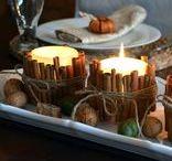 Incense sticks, candles, lanterns etc