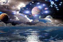 Astronomy, Galaxy, planets, etc
