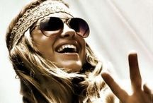 Hippy style - free spirits/backpackers