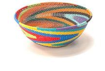African art/baskets etc