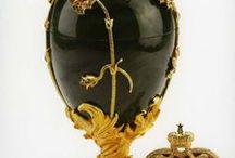 Russian eggs (Faberge eggs)
