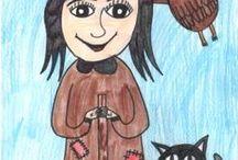 Súťaž - Nakreslite rozprávkové postavičky z knižiek Zuzky Csontosovej. / V letnom katalógu 2016 je vašou úlohou nakresliť postavičky z knižiek obľúbenej autorky Zuzky Csontosovej - vílu Jazmínku, škriatka Vendelína a ježibabu Anastáziu.