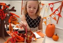 Thanksgiving! (Kids) / Crafts, treats, recipes, and activities for children of all ages to enjoy at Thanksgiving!