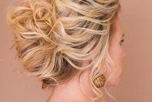 k l s // h a i r & m a k e u p / bridal hair | romantic | loose curls | bridal updo