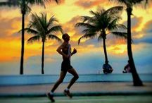 Run, Fort Lauderdale Beach  / Scenic Highway A1A along Fort Lauderdale Beach is a breathtaking setting for a run, whether leisurely or for a marathon.