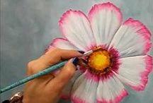 Pintura em tecido  Videos (2 )