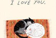 Cat illustrations :B <3