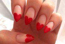 Nails / unhas, decoração, formas