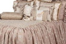 COUNTRY FRENCH LUXURY BEDDING / Order yours today!   Reilly-Chance Collection in your home in about a week!  Beautiful design paired with rich fabrics and trims to make your bedroom the stuff that dreams are made of.