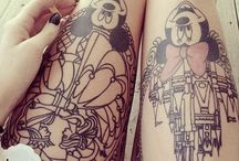Tatuagens / Inspirações para deixar a pele mais linda e colorida