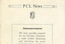 PCL in the 40s / A range of images, promotional material, news articles and more dated from the 1940s relating to PCL.