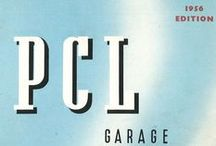 PCL in the 50s / A range of images, promotional material, news articles and more dated from the 1950s relating to PCL.