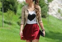 Fashion / clothes i wish i had... and outfits to recreate and cute shoes and just pretty things / by Diana Cz