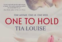 ONE TO HOLD / My debut adult romance Meet Derek & Melissa, and follow them on their journey to true love.