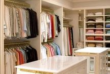 Closets We Love / Inspiration for luxury custom closets.