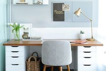 WORKSPACE / Interiors of study rooms and creative spaces